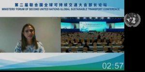 Lee más sobre el artículo En foro mundial de Naciones Unidas, Mintransporte contó avances sobre las políticas de movilidad sostenible